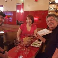 Awesome French wine bar, Amelie, where the waiters are super knowledgeable about wine and will speak to you in French without making fun of your bad grammar!