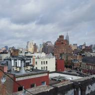The view from the roof of the apartment we rented in the Village.