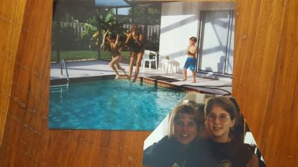 Aunt Leigh visitin gus in Florida, circa 1995/1996.