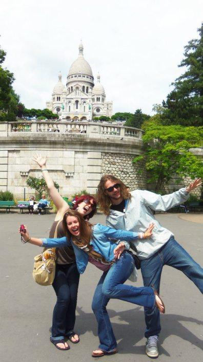 My fave touristy spot, Sacré Coeur