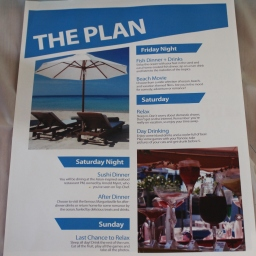 The weekend plan!