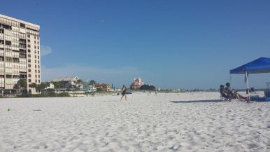St. Pete Beach, with the Don Cesar in the background