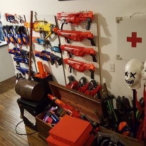 Ready for the next Nerf War!