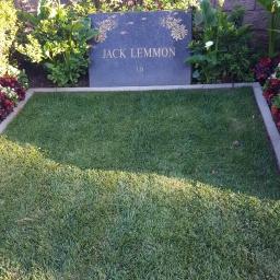 Jack Lemon, always with a good sense of humor