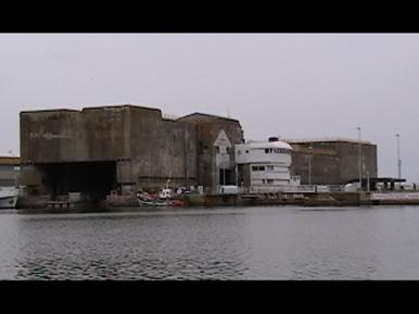 U-boat bunkers