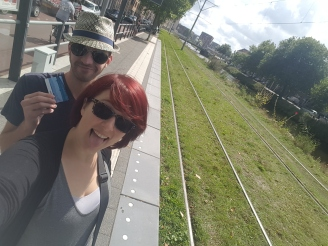 Got our tram cards #likealocal