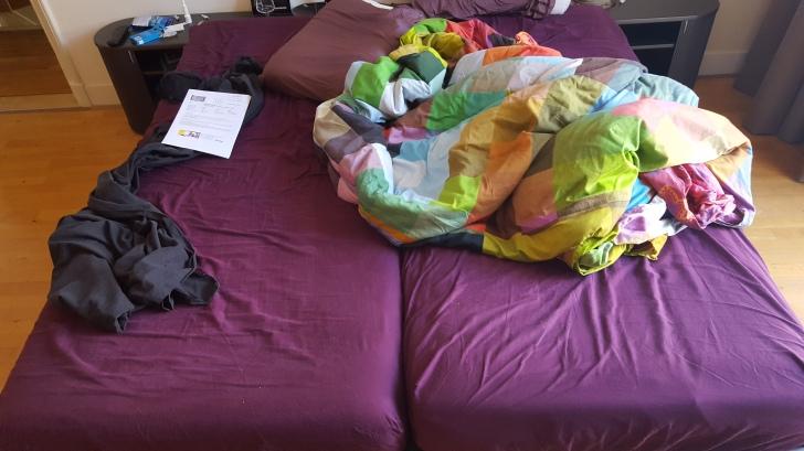 2 mattresses = 1 bed?