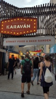 Karavan food court and beer garden