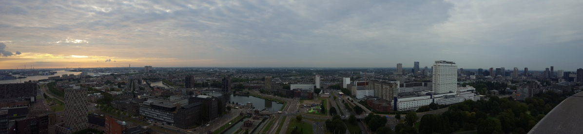 View from the Euromast tower