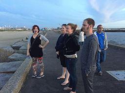 Checking out the Scheveningen views