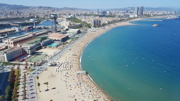View of Barceloneta