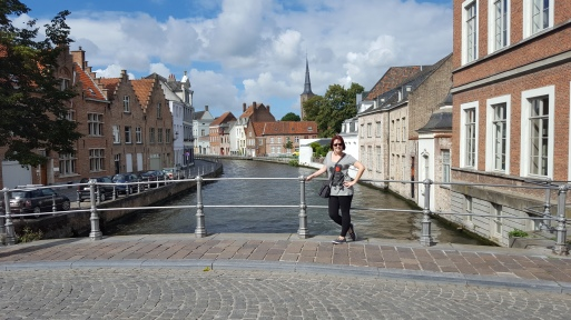 Another canal in Bruges