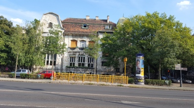 An old house in Budapest