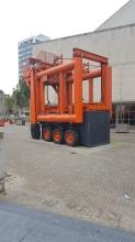 Giant machinery in Rotterdam