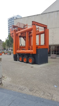 Giant machinery in Rotterdam