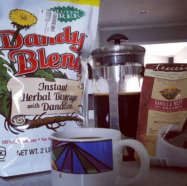 Dandy Blend is definitely better than Teecino.