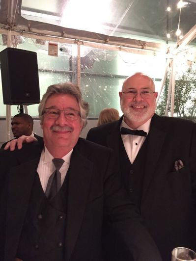 Our founder, Winn Schwartau, and CEO, Bob Todrank, looking very suave at the @RSAConference's SC Awards Banquet!