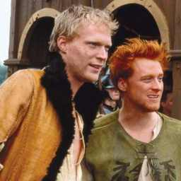 Paul Bettany and Alan Tudyk in A Knight's Tale