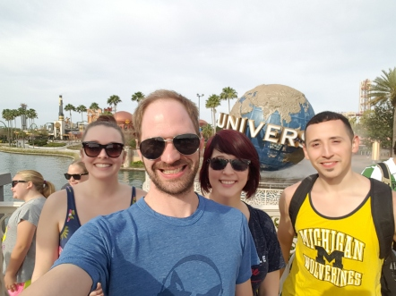 Elearning team at Universal