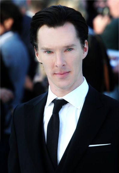 Snape played by Benedict Cumberbatch