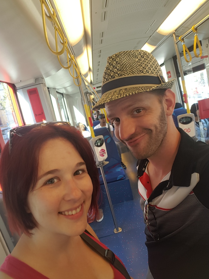 Living like locals and riding the tram