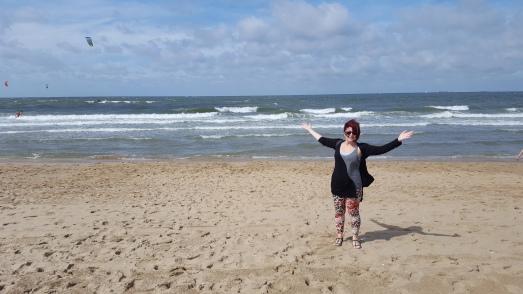 The beautiful Scheveningen Beach