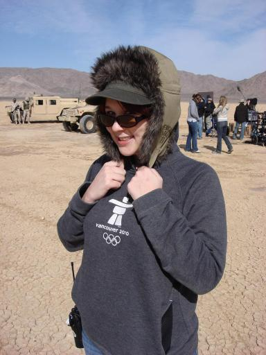 2008: I got to be a P.A. on an indie film shoot and learn how much I did not want to be in the movie biz.