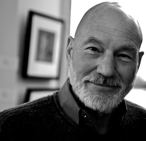 Dumbledore played by Patrick Stewart