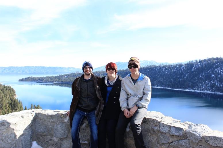 Husband, moi and my bro
