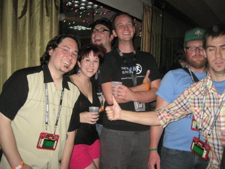 Thad, me and some of my other longtime DefCon friends.