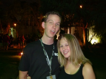 One of my oldest friends from DefCon, Thad.
