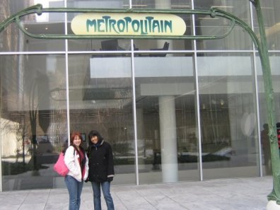 Me and S in NYC (2008)