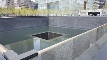 The memorial. Very striking. Not what I expected but I think it's beautiful.