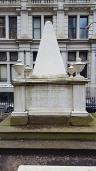 The final resting place of Alexander Hamilton