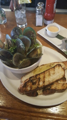 Mussels at Nelson Blue