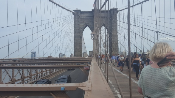 The Brooklyn Bridge!