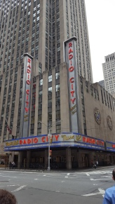 Radio City! (Can't wait for the Tony's this summer!)