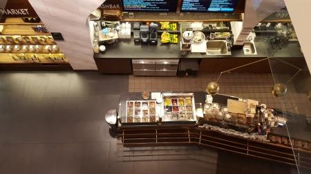 The smoothie, smash, coffee and kombucha bar at Hu Kitchen