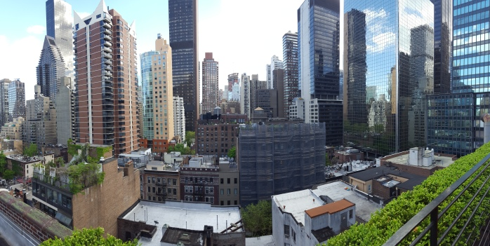 The view from the Pod 51 Rooftop