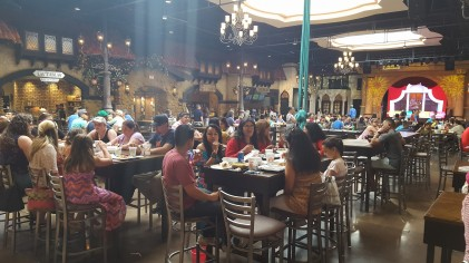 The food court at Plaza Mariachi