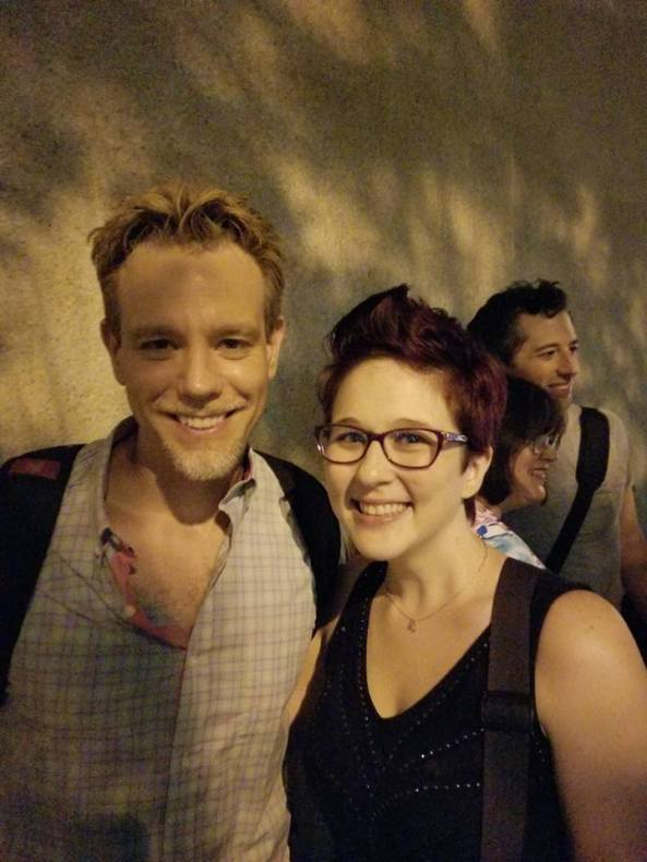 I GOT TO MEET ADAM PASCAL!!! (16-year-old me fangirled hard)