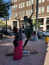 Loved the sculpture walk in DTSF!