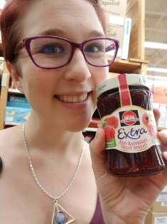 Found some Schwartau jam at the World Market!