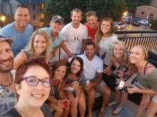 Cousins + spouses selfie!