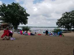 The beach, never too crowded!