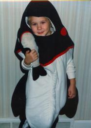 My award-winning Halloween costume, circa 1990