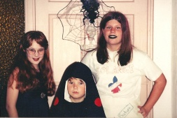 The Shamu costume lives on, this time my brother, 1997