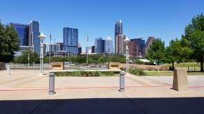 View of the city from UT
