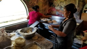 Amazing homemade tortillas a Polvo's