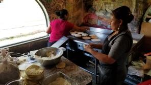 Amazing homemade tortillas a Polvo's